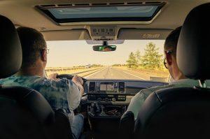 Zu zweit fahren ist angenehmer als alleine